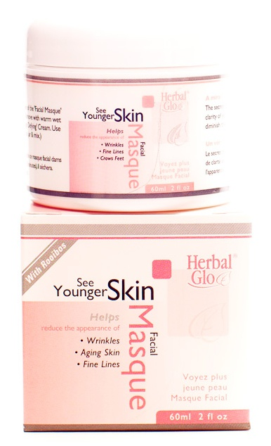 Herbal Glo See Younger Looking Skin Facial Masque