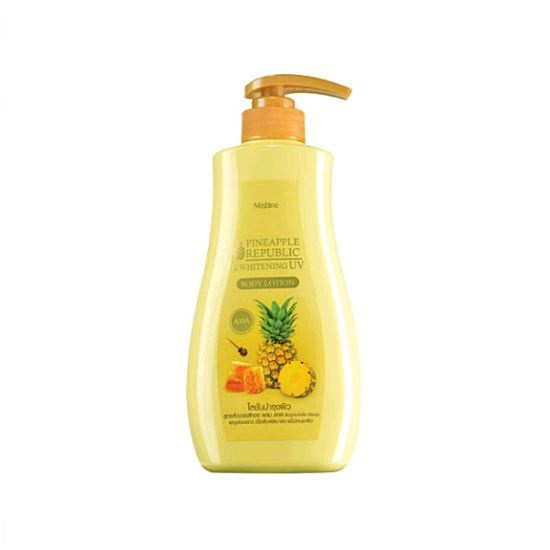 Mistine Pineapple Republic And Whitening Uv Body Lotion