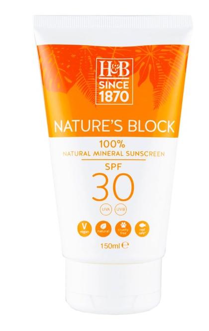 Holland & Barrett Nature'S Block Mineral Spf 30 Sun Cream