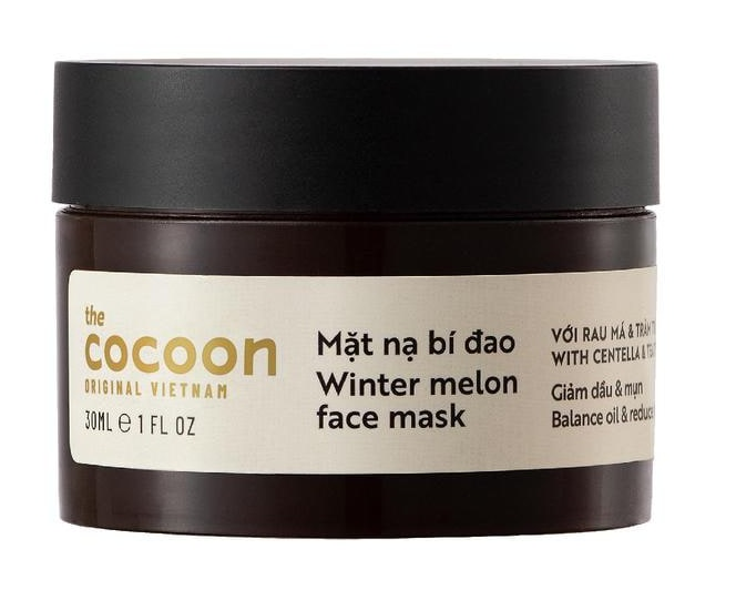 the Cocoon Winter Melon Face Mask