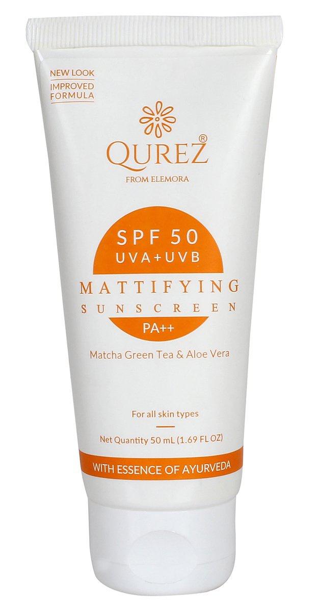 Qurez  Mattifying  Sunscreen