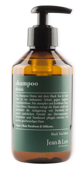 Jean & Len Shampoo Detox Black Tea & Mate