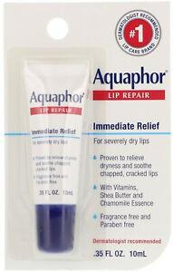Aquaphor Lip Repair, Immediate, Relief, Fragrance Free