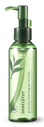 innisfree Green Tea Cleansing Gel-To-Foam