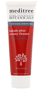 Meditree Pure Australian Botanicals, Kakadu Plum Creamy Cleanser, For Younger Looking Skin