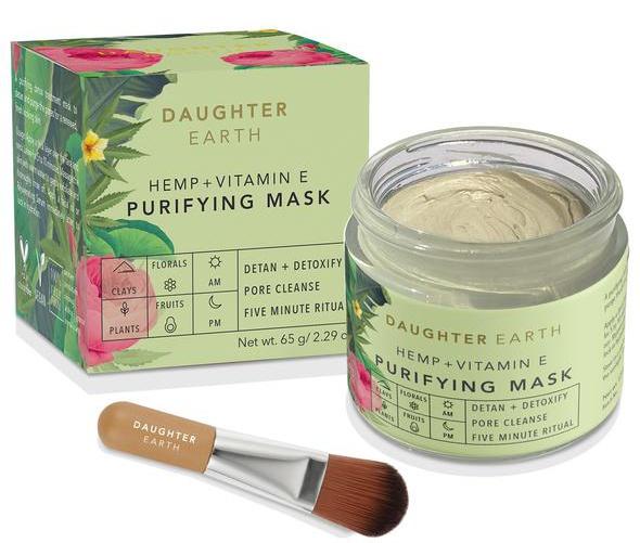 Daughter Earth Hemp + Vitamin E Purifying Mask