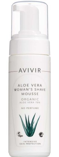 Avivir Aloe Vera Woman's Shave Mousse