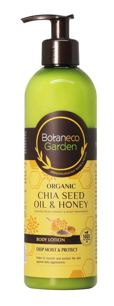Botaneco Garden Organic Chia Seed & Honey Body Lotion 400ml