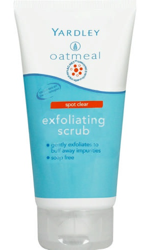 Yardley Oatmeal Spot Clear Exfoliating Scrub