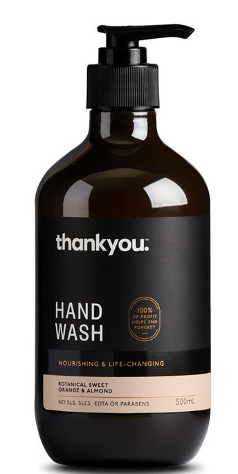 Thankyou Hand Wash - Botanical Sweet Orange & Almond