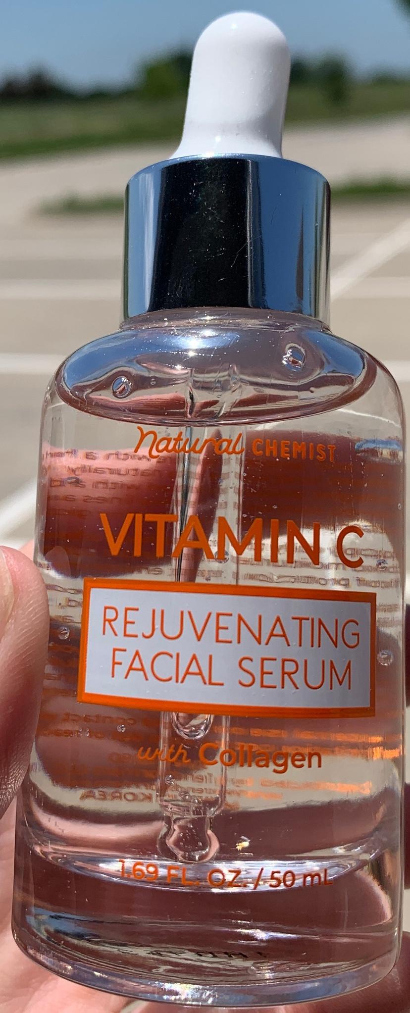 Natural Chemist Vitamin C Rejuvenating Facial Serum With Collagen