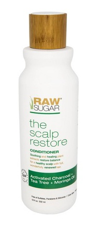 Raw Sugar Raw Sugar Scalp Renew Shampoo Activated Charcoal + Tea Tree + Moringa Oil