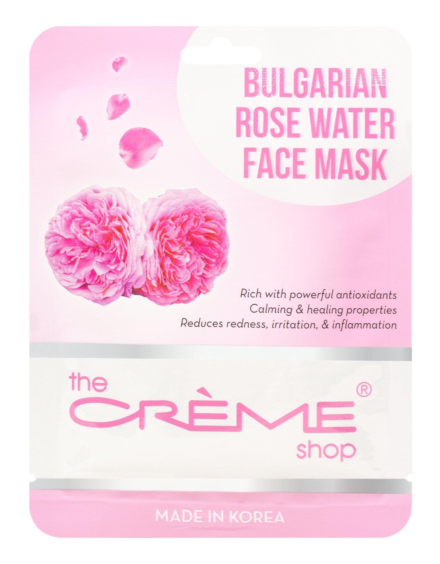 The Creme Shop Bulgarian Rose Water Face Mask Duo