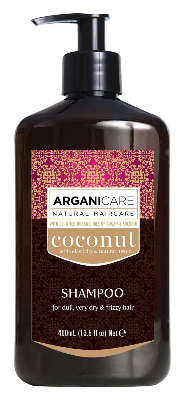 Argani Care Arganicare Shampoo For Dull, Very Dry & Frizzy Hair - Argan & Coconut