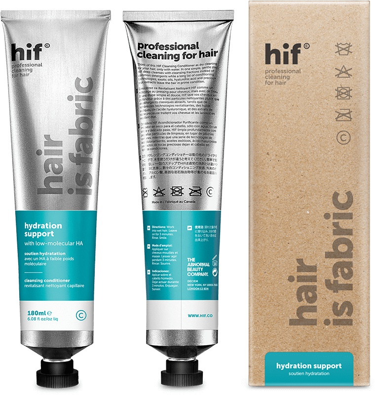 hif (Hair is Fabric) Hydration Support