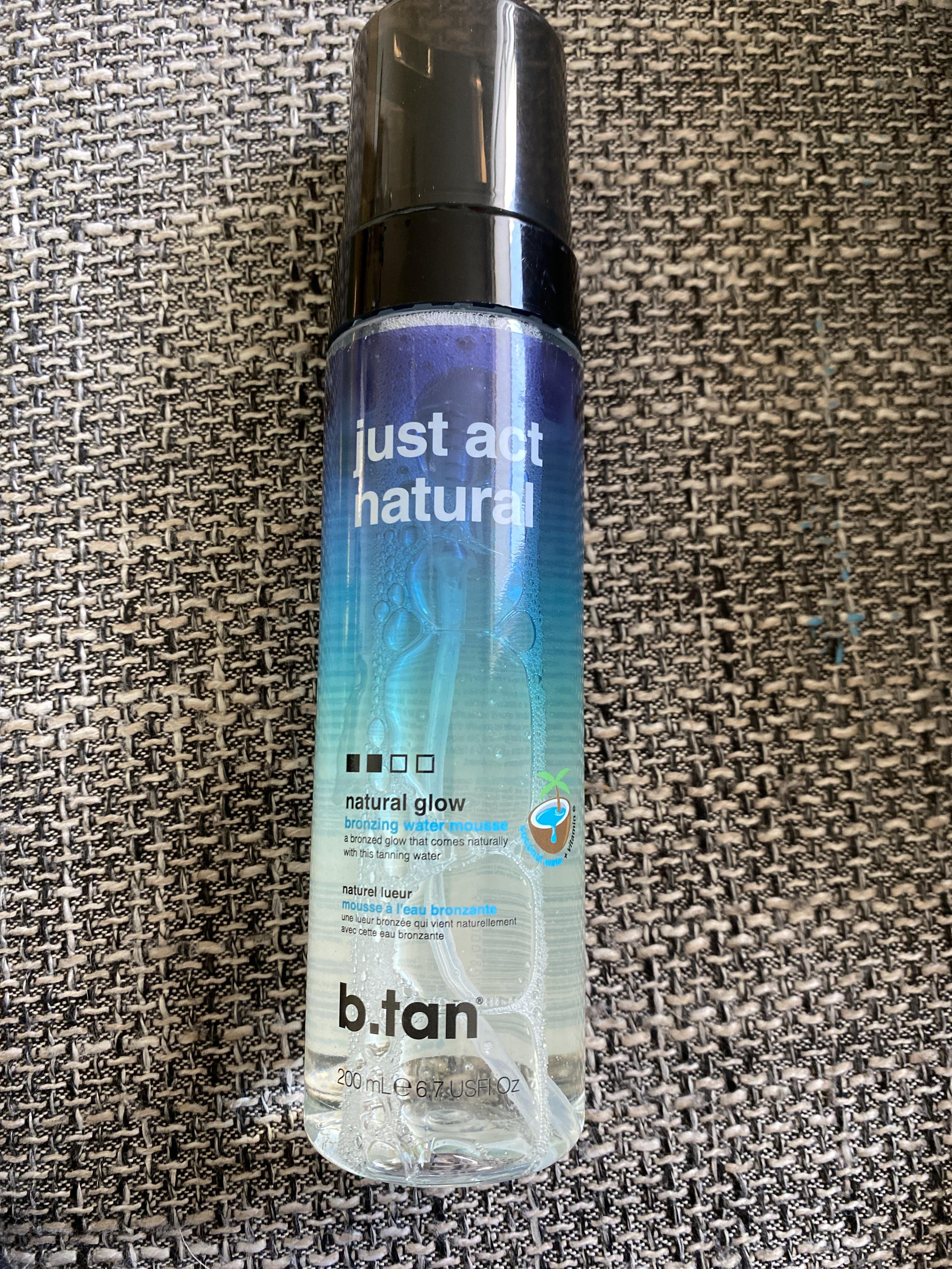 b.tan Just act natural