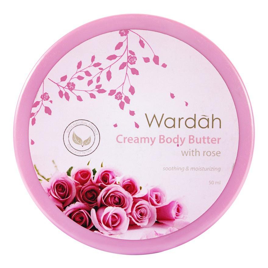 Wardah Creamy Body Butter Rose