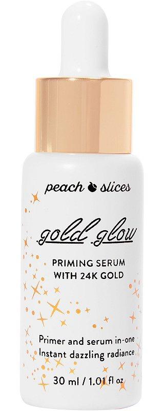 Peach slices Gold Glow Priming Serum