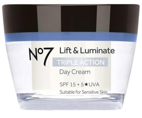 Boots No7 Lift And Luminate Day Cream Spf 15