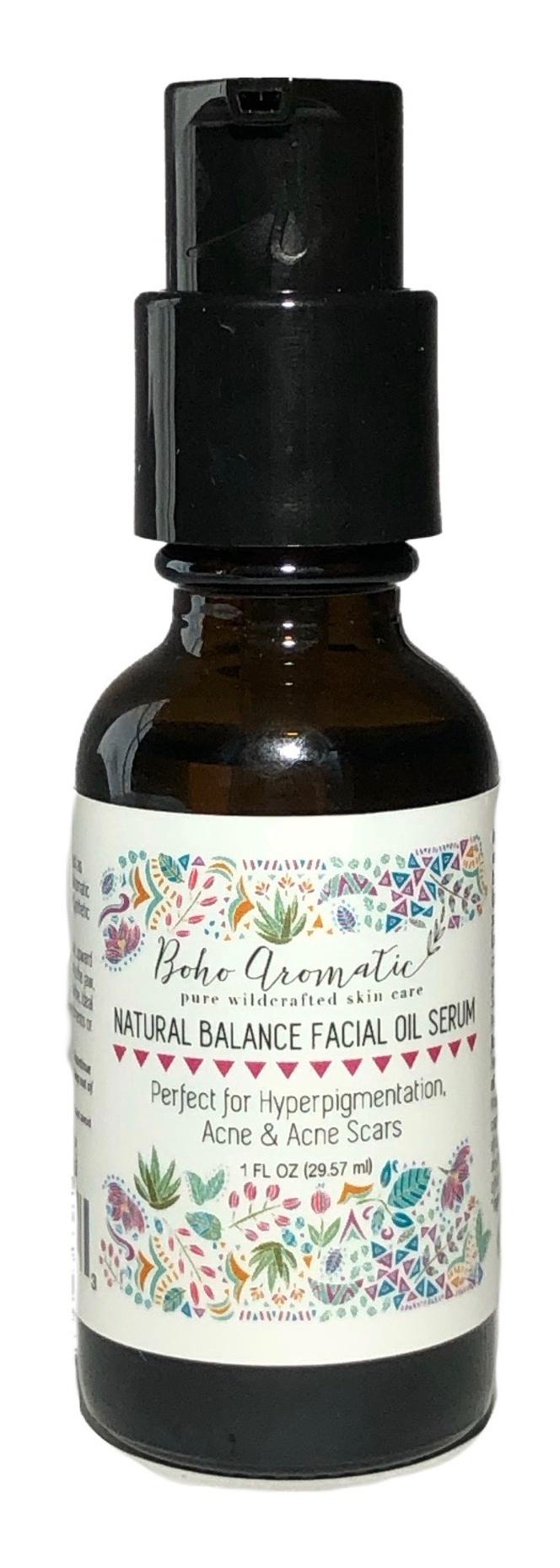 Boho Aromatic Natural Balance Facial Oil Serum