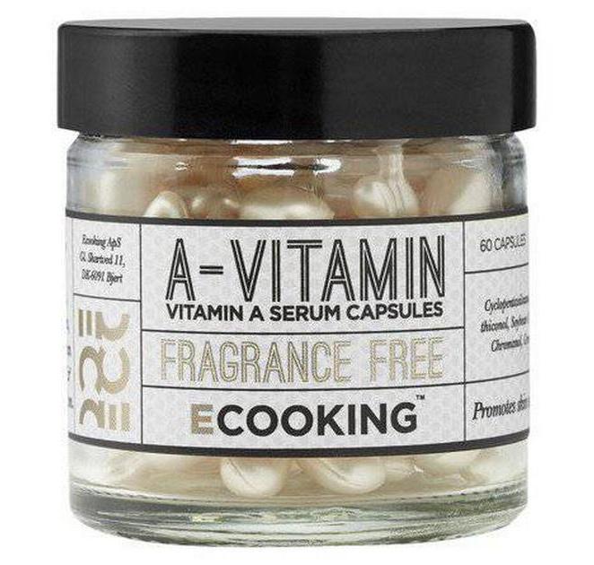 Ecooking A Vitamin Capsules