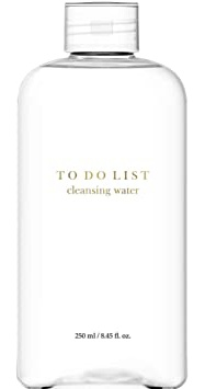 TO DO LIST Cleansing Water   Premium Micellar Water Makeup Remover