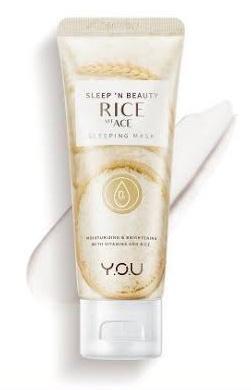 Y.O.U. Sleep N Beauty Ace Sleeping Mask - Rice