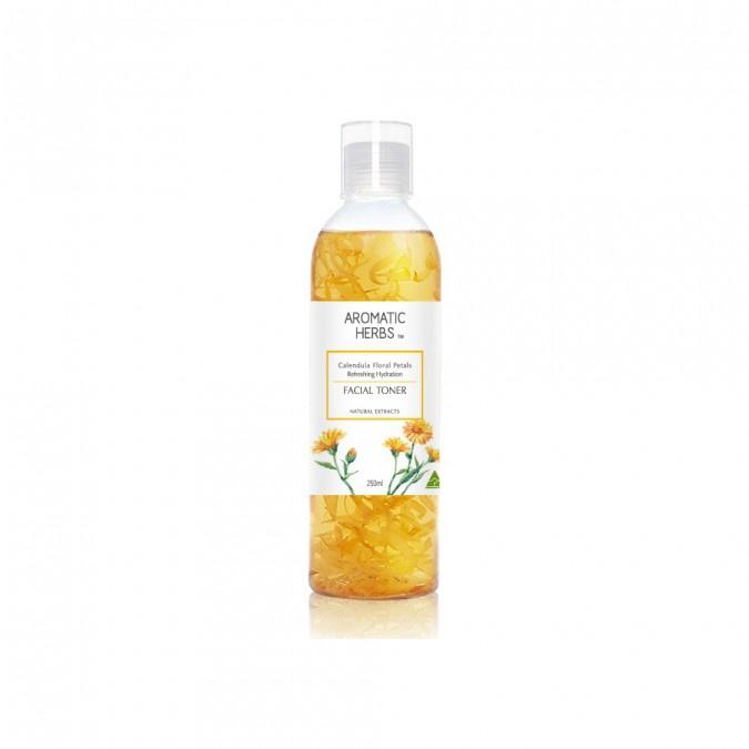 Aromatic Herbs Calendula Floral Petals Refreshing Hydration Facial