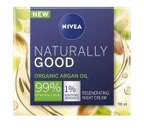 Nivea Naturally Good Argan Oil Regenerating Night Time Cream