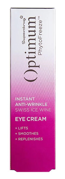 Superdrug Optimum Phytofreeze Swiss Ice Wine Eye Cream
