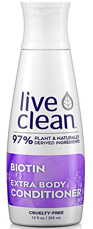 Live Clean Biotin Extra Body Conditioner