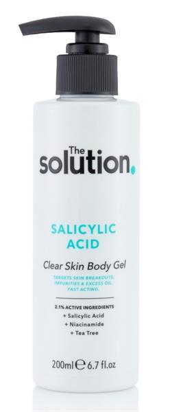 The Solution Salicylic Acid Clear Skin Body Gel