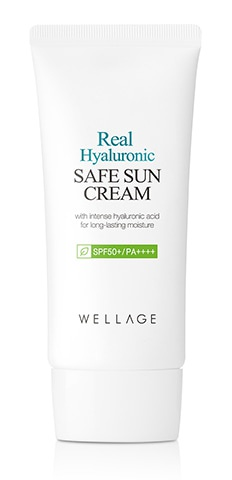Wellage Real Hyaluronic Safe Sun Cream Spf 50