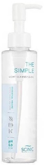 Scinic Simple Light Cleansing Oil