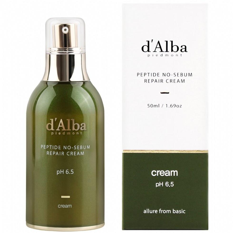 D'ALBA PIEDMONT Peptide No-Sebum Repair Cream