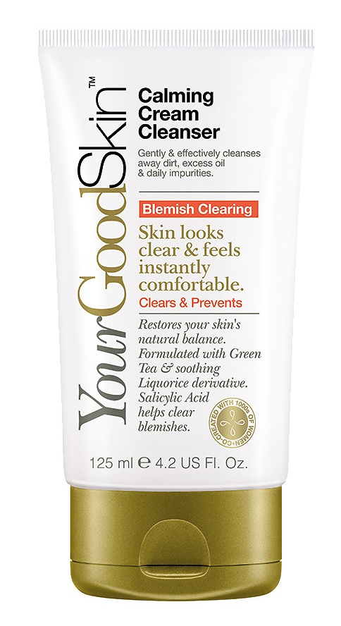 YourGoodSkin Acne Clearing Calming Cream Cleanser