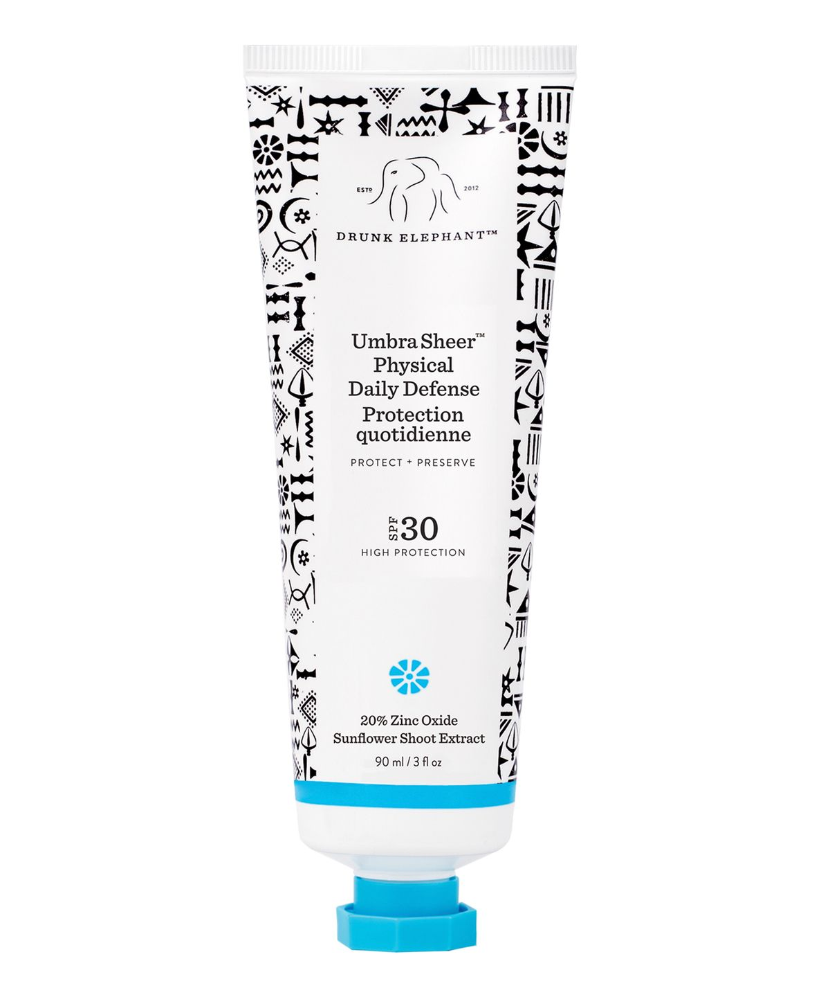 Drunk Elephant Umbra Sheer Physical Daily Defence Spf 30