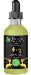 Natural wunderz Face And Body Oil Lavender With Honey