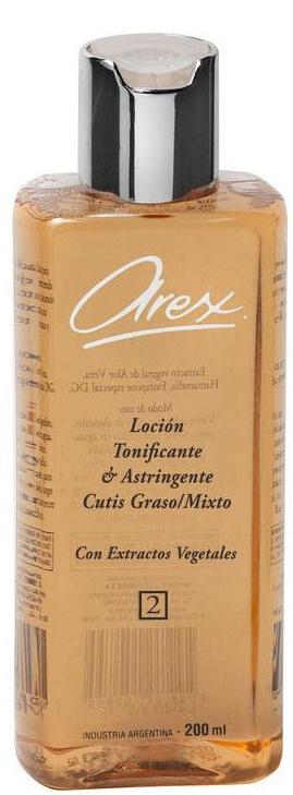 Arex Loción Tonificante Y Astringente
