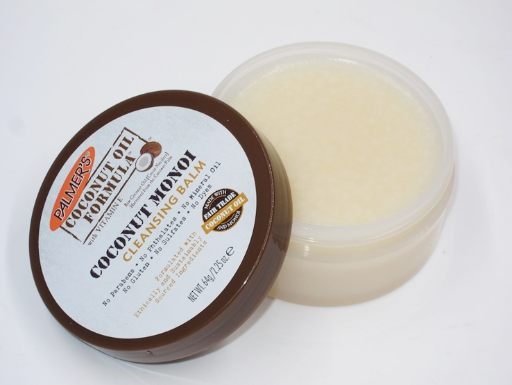 Palmer's Coconut Oil Formula, Coconut Monoi Facial Cleansing Balm And Makeup Remover