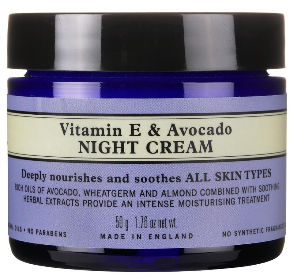 Neal's Yard Remedies Vitamin E And Avocado Night Cream
