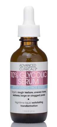 Advanced Clinicals 10% Glycolic Serum