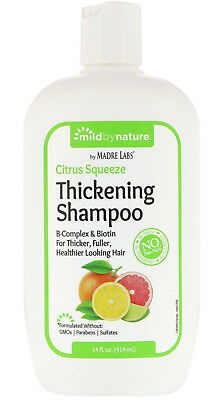 Mild By Nature Thickening B-Complex Biotin Shampoo