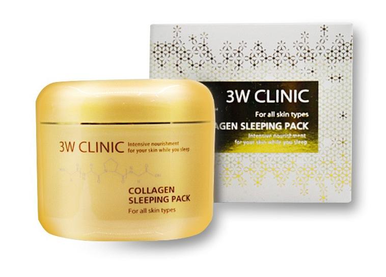 3W Clinic Collagen Sleeping Pack
