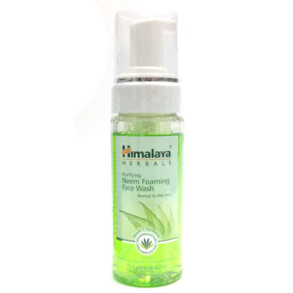 Himalaya Herbals Purifying Neem Foaming Face Wash