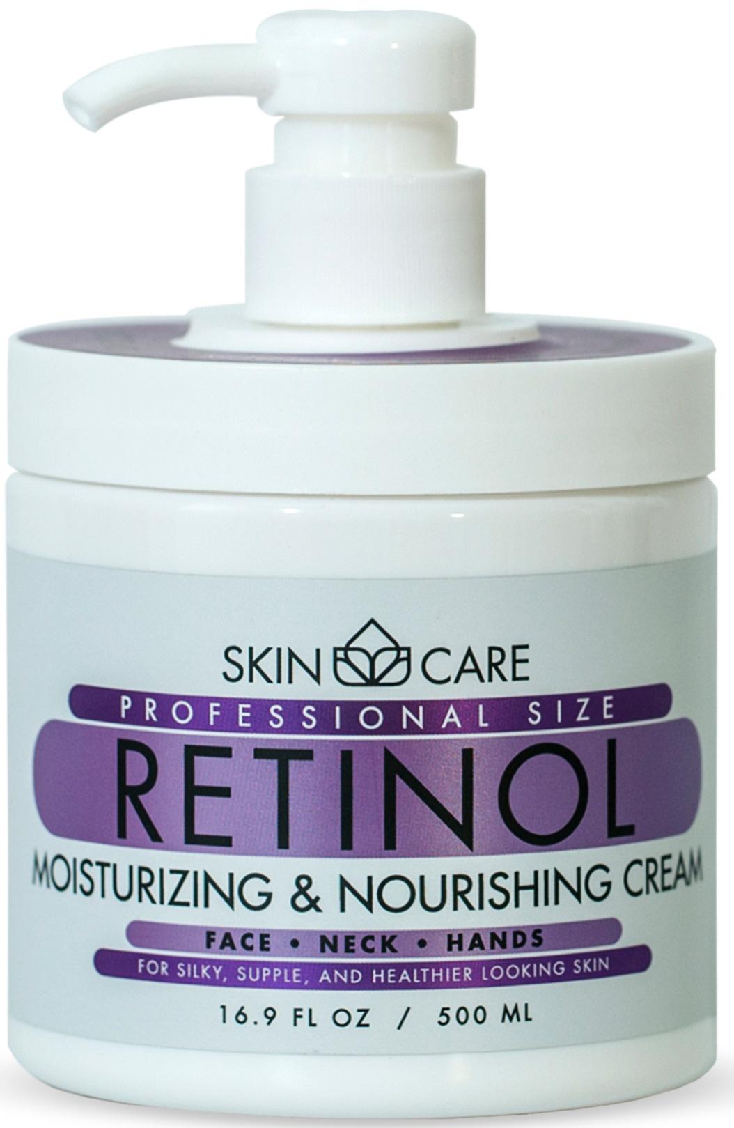 Skin Care Professional Size Retinol Moisturising & Nourishing Cream