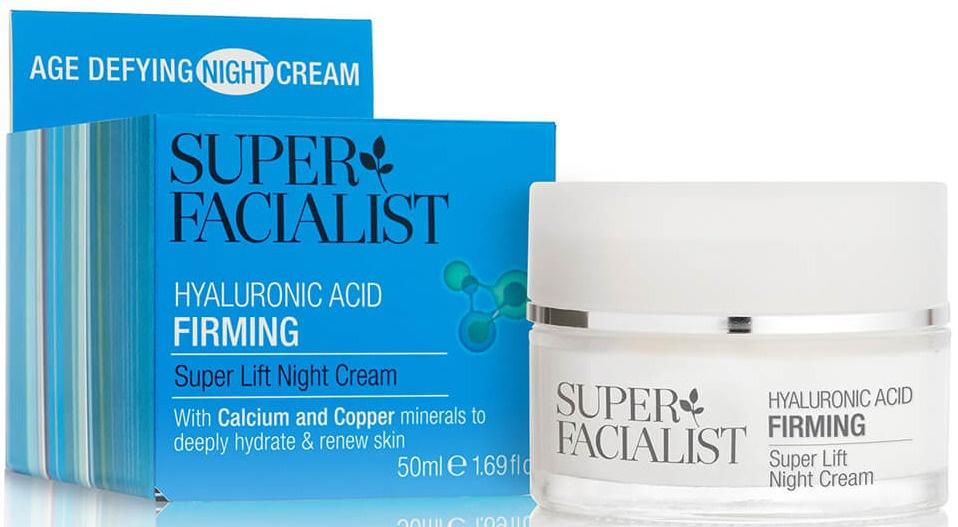 Super Facialist Hyaluronic Acid Firming Super Lift Night Cream