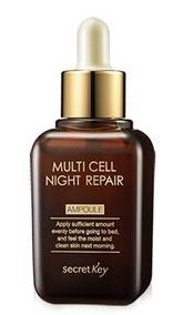 Secret Key Multi Cell Night Repair Ampoule