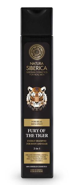 Natura Siberica Energy Shampoo For Body And Hair Fury Of The Tiger