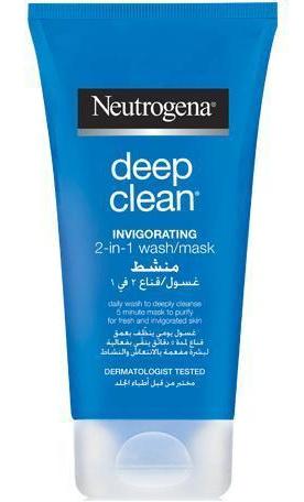 Neutrogena Deep Clean Invigorating 2-In-1 Wash/Mask